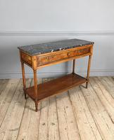 19th Century French Walnut Console Table (2 of 4)