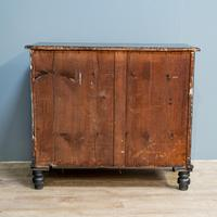 Vintage Painted Chest Of Drawers Black (5 of 7)