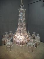 19th Century Crystal Tent & Waterfall Chandelier (15 of 18)