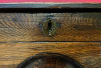 Beautiful 18th Century Georgian Period English Country Oak Mule Chest Sideboard Cabinet (15 of 19)