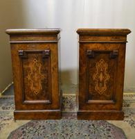 Pair of Walnut Bedside Cabinets (4 of 8)