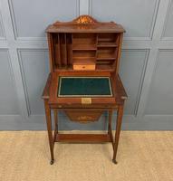 Edwardian Inlaid Mahogany Bonheur Du Jour c.1901 (11 of 19)