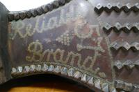 Edwardian Shoe Shop or Cobblers Trade Sign, Leather Boot Display Model (9 of 11)