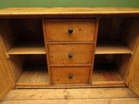 Victorian Rustic Antique Pine Sideboard Kitchen Unit (9 of 22)