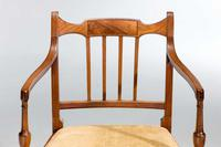Set of Eight George III Period Dining Chairs 'Six Side Chairs plus Two Armchairs' (3 of 9)