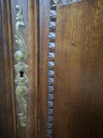 Antique French Carved Oak Bookcase (10 of 16)