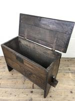 Small 18th Century Joined Oak Coffer (9 of 18)