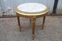 Gilt Occasional Table