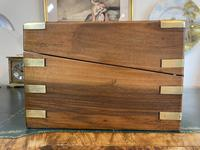 Victorian Brass-bound Walnut Writing Slope with Secret Drawers (6 of 39)