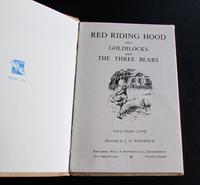1958 Red Riding Hood Goldilocks & 3 Bears by Gilda Lund, 1st Edition Ladybird Book with Dust Jacket (2 of 5)