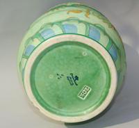 Charlotte Rhead Tube Lined Vase Manchu Dragon Design (6 of 9)