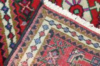 Small Hamadan Hand Woven Carpet (4 of 4)