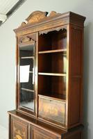 Edwardian Inlaid Rosewood Bookcase (7 of 12)