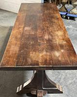French Farmhouse Dining Table & Benches Set (19 of 33)
