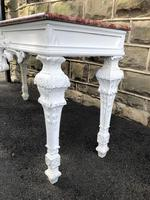 Decorative Marble Top Console Table (5 of 8)