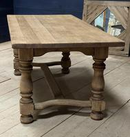 Deep Bleached Oak French Farmhouse Dining Table (13 of 20)