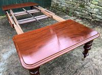 Very Large Victorian Mahogany Extending Dining Table (13 of 16)