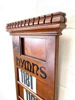 Early 20th Century Antique Hymn Board (3 of 4)