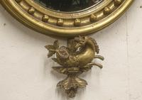 Regency Period Convex Mirror Eagle pediment (2 of 4)