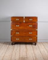 Early 19th Century Mahogany Campaign Chest (4 of 4)