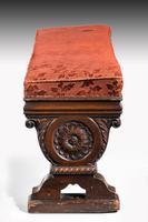 Mid 19th Century Mahogany Double Stool (3 of 3)