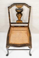 Queen Anne Style Chinoiserie Dressing Table & Chair (14 of 22)