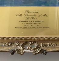 Charles Cousin - Riviera Ville Franche Sur Mer, Le Port (3 of 3)