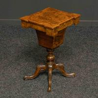 Victorian Walnut Sewing Table (11 of 12)