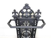 Victorian Cast Iron Umbrella Stand – Coalbrookdale Style (2 of 9)