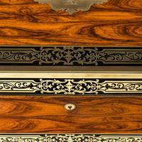 Superb William IV Brass Inlaid Kingwood Writing Box by Edwards (16 of 17)