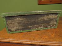 Shabby Chic Folk Art Painted Writing Slope Box with Fruit, Recipe Storage (11 of 14)