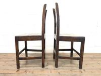 Pair of Country Bar Back Chairs (7 of 8)