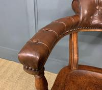 Victorian Revolving Desk Chair by Jas Shoolbred & Co (6 of 10)