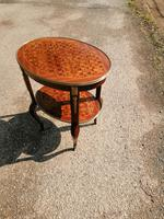 French Parquetry Occasional / Lamp Table (9 of 9)