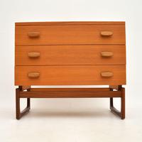G Plan Teak Quadrille Chest of Drawers Vintage 1960's (3 of 11)