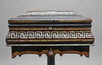 19th Century papier-mache work table (3 of 14)
