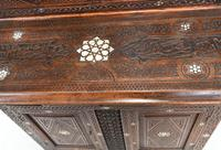 Syrian Inlay Cabinet Bookcase Damascan Islamic Interiors c.1880 (7 of 14)