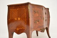 Antique French Inlaid Marquetry Bombe Chest (7 of 11)