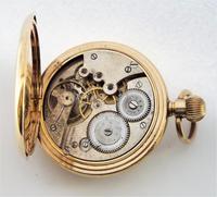 1930s Sun Dial Half Hunter Pocket Watch by Cyma (6 of 6)