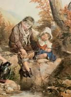 John Henry Mole Exhibition Quality Regency Period Watercolour Painting (9 of 13)