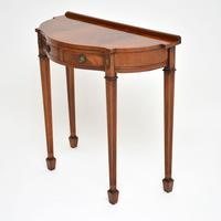 Antique Georgian Style Mahogany Console Table (3 of 8)