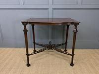 Chippendale Style Mahogany Occasional Table (6 of 10)