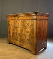 Large Louis Philippe Walnut Commode (7 of 12)