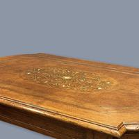 French Walnut and Marquetry Coffee Table (2 of 5)