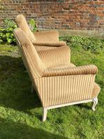 Large Pair of Upholstered Armchairs (5 of 6)