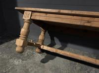 Large Refectory Bleached Oak Farmhouse Table (13 of 17)
