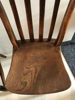 Set OF Three Victorian Slat Back Chairs (6 of 7)