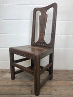 Antique Victorian Carved Oak Chair (10 of 14)