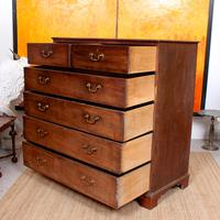 Georgian Chest of Drawers Mahogany Country Tallboy George IV (8 of 11)