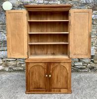 Antique Victorian Pine Shelved Larder Cupboard (10 of 19)